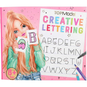 TOPModel Creative Lettering Malbuch || Depesche 10903