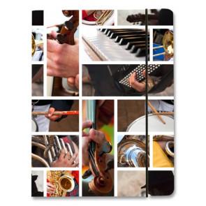 Venceremos Sammelmappe A4 Musikinstrumente