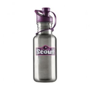 Scout Edelstahl-Trinkflasche violett