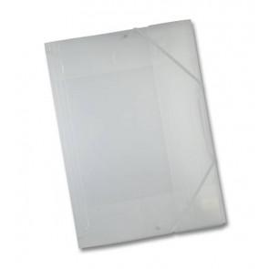 Folia Sammelmappe weiß/transparent DIN A3 mit Gummizug