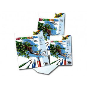 Folia Zeichen-Karton A3 200G Folia 25Er-Packung