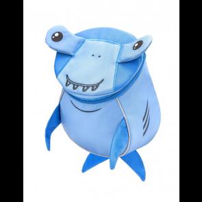 """Belmil Mini Animal Shark Kindergarten Rucksack """"blau"""""""