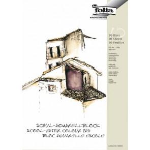 Folia Aquarell-Block A3 150G Schule