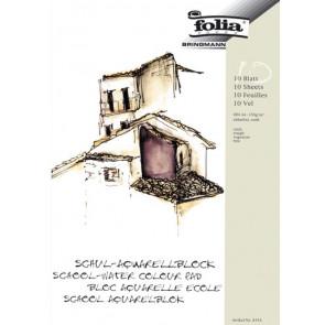Folia Aquarell-Block A4 150G Schule