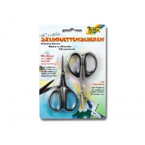 Folia Silhouetten-Schere 2er-Pc Kunststoff Griffe 779 ca 105mm