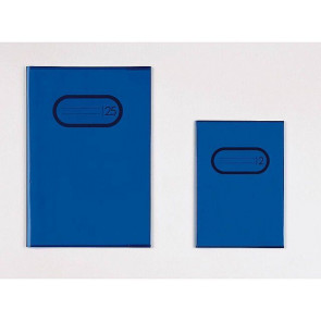Herma Heftschoner Transparent A4 Blau 7493 ohne Namensschild
