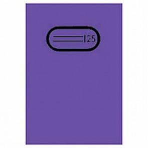 Herma Heftumschlag Transparent A4 Violett 7496 ohne Namensschild