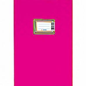 Herma Heftumschlag Plastik A5 Pink-Rosa 7432 (Heftschoner)