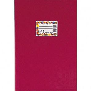 Herma Heftumschlag Plastik A5 Weinrot 7430 (Heftschoner)