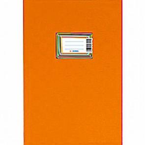 Herma Plastik Heftumschlag A5 Orange 7424 (Heftschoner)