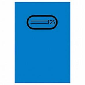 Herma Heftumschlag Transparent A5 Blau 7483 ohne Namensschild (Heftschoner)