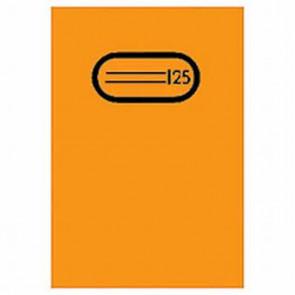 Herma Heftumschlag Transparent A5 Orange 7484 ohne Namensschild (Heftschoner)
