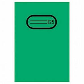 Herma Heftumschlag Transparent A5 Grün 7485 ohne Namensschild (Heftschoner)