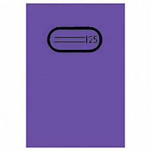 Herma Heftumschlag Transparent A5 Violett 7486 ohne Namensschild (Heftschoner)