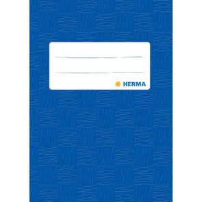 Herma Heftschoner Plastik A6 Blau 7403