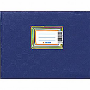 Herma Heftumschlag Plastik A5 Quer Blau 7413 (Heftschoner)