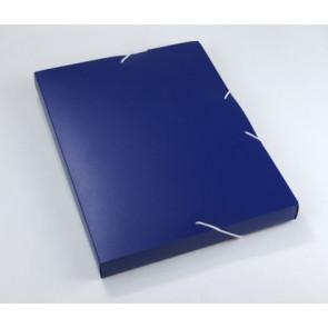 Staufen Heftbox PP DIN A4 32mm Opak robust dunkelblau