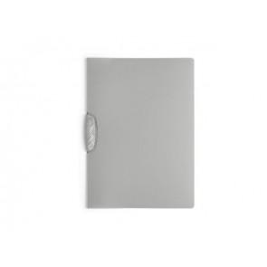 Durable Klemm-Mappe Swingclip A4 30Bl transluzent grau