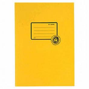 Herma Heftumschlag Papier Recycling A4 Gelb 5521 (Heftschoner)