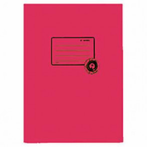 Herma Heftumschlag Papier Recycling A4 Dunkelrot 5532 (Heftschoner)
