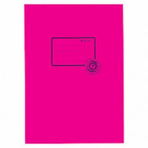 Herma Heftschoner Papier Recycling A5 Pink 5514