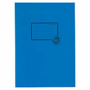 Herma Heftumschlag Papier Recycling A5 dunkelblau 5503 (Heftschoner)