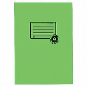 Herma Heftumschlag papier Recycling A5 Grasgrün 5508 (Heftschoner)