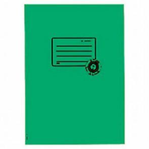 Herma Heftumschlag Papier Recycling A5 Dunkelgrün 5505 (Heftschoner)