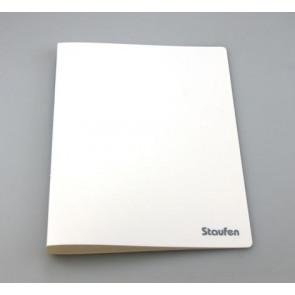 Staufen Ringbuch PP A4 2Ring 17mm Opak weiss 94701