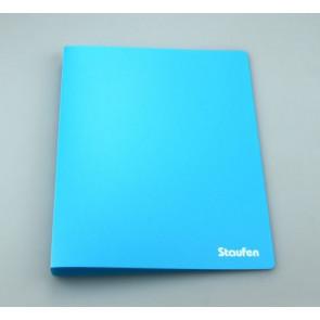 Staufen Ringbuch A4 94730 PP 2Ring 17mm Opak hellblau