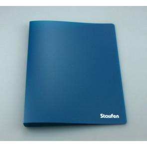 Staufen Ringbuch A4 94735 PP 2Ring 17mm Opak dunkelblau