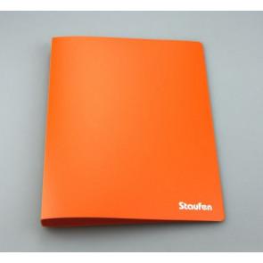 Staufen Ringbuch A4 94745 PP 2Ring 17mm Opak orange