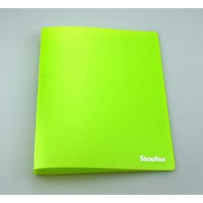 Staufen Ringbuch A4 94750 PP 2Ring 17mm Opak hellgrün