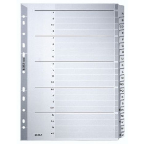 Leitz Ringbuch-Register A4 20-T A-Z