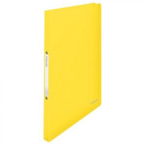 Esselte Ringbuch Vivida DIN A4 PP 2Ring 16mm gelb