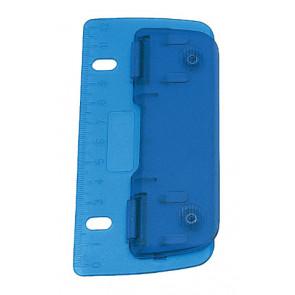 Wedo Taschen-Locher 8cm blau cm-Einteilung