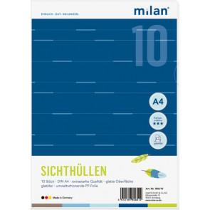 Milan Sicht-Hülle A4 140My glatt glasklar 10er Milan 999108226