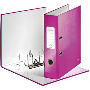 Leitz Ordner A4 breit Wow pink metallic Leitz