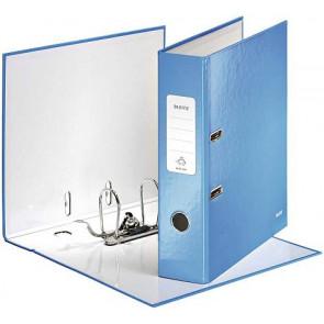 Leitz Ordner A4 breit Wow blau metallic Leitz