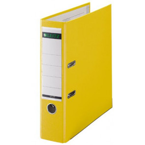 Leitz 1010 Ordner DIN A4 gelb 80mm breit