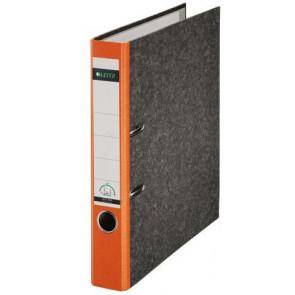 Leitz Ordner DIN A4 orangener Rücken 50mm breit