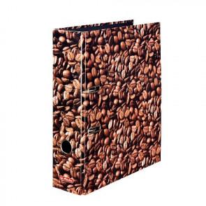 Herlitz Motivordner Kaffee DIN A4 80 mm