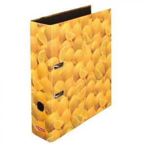 Herlitz Motivordner Zitrone DIN A4 Format 80 mm