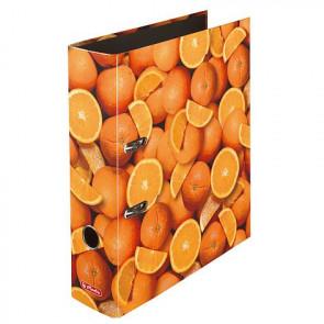 Herlitz Motivordner maX.file Orangen DIN A4 80 mm