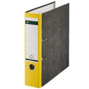 Leitz Ordner DIN A4 gelber Rücken 80mm breit