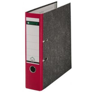 Leitz Ordner DIN A4 roter Rücken 80mm breit