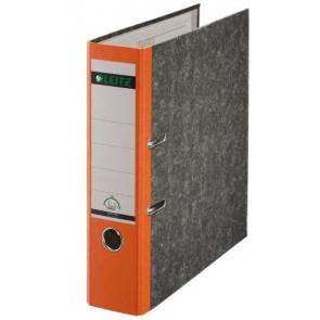 Leitz Ordner DIN A4 oranger Rücken 80mm breit