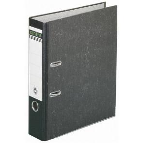 Centra Ordner DIN A4 schwarz 80mm breit