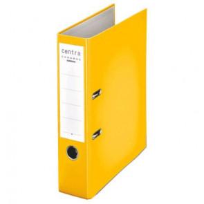 Centra Ordner Chromos DIN A4 gelb 80mm breit