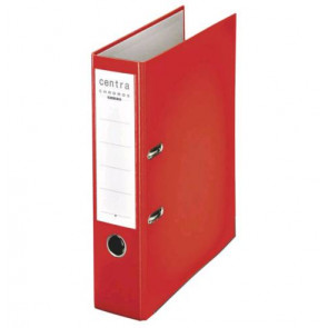 Centra Ordner Chromos DIN A4 rot 80mm breit